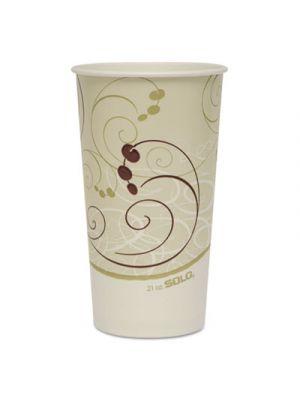 Paper Cold Cups, 21 oz., Symphony Design, 50/Bag, 20/Carton