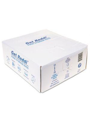 Get Reddi Food & Poly Bag, 10 x 24, 22-Quart, 1.20 Mil, Clear, 500/Carton