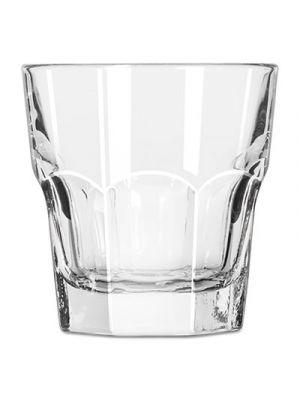 Gibraltar Rocks Glasses, 7 oz, Clear, 36/Carton