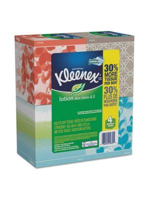 Lotion Facial Tissue, 2-Ply, 75/Box, 8 Boxes/Carton