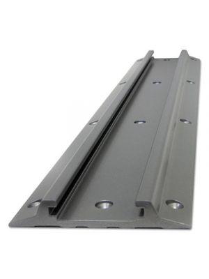 Wall Track, 5 x 7/8 x 10, Aluminum