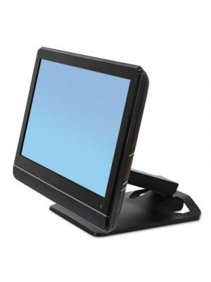 Neo-Flex Touchscreen Stand, 10 7/8 x 12 7/8 x 5 to 11 3/4, Black