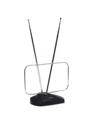 Indoor Digital TV Antenna, Non-Amplified, 40-Mile Range