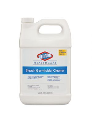 Bleach Germicidal Cleaner, 128 oz Refill Bottle, 4/Carton