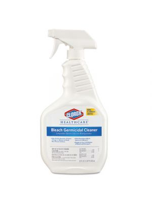Bleach Germicidal Cleaner, 22  oz Spray Bottle, 8/Carton