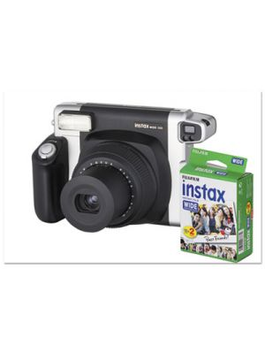 Instax Wide 300 Camera Bundle, 16 MP, Auto Focus, Black