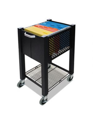 InstaCart Sidekick File Cart, 14-1/4w x 16-1/4d x 27-3/4h, Black