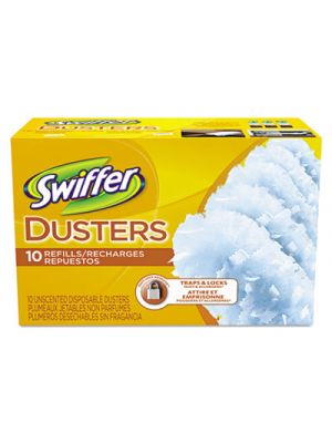 Refill Dusters, Cloth, White, 10/Box