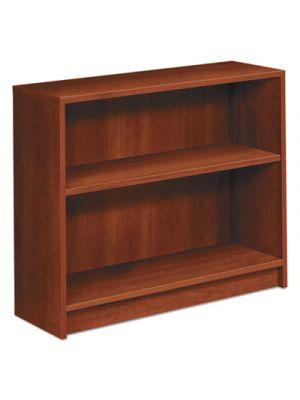 1870 Series Bookcase, Two Shelf, 36w x 11 1/2d x 29 7/8h, Cognac