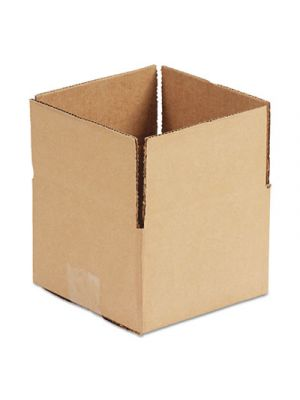 Brown Corrugated - Fixed-Depth Shipping Boxes, 12l x 12w x 8h, 25/Bundle