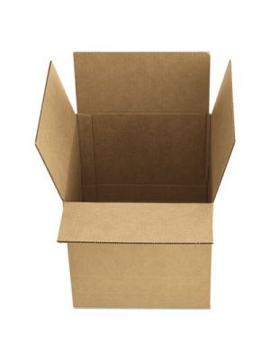 Brown Corrugated - Fixed-Depth Shipping Boxes, 12l x 9w x 6h, 25/Bundle