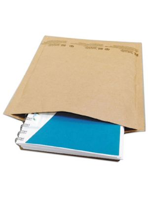 Self Seal Cushioned Mailer, #0, 6 x 10, Natural Kraft, 200/Carton