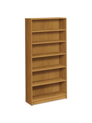 1870 Series Bookcase, Six Shelf, 36w x 11 1/2d x 72 5/8h, Harvest