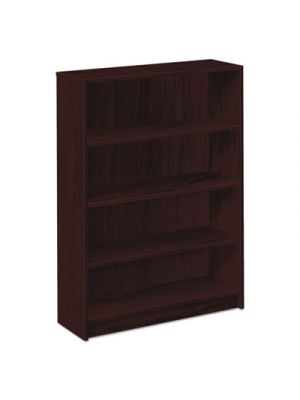 1870 Series Bookcase, Four Shelf, 36w x 11 1/2d x 48 3/4h, Mahogany