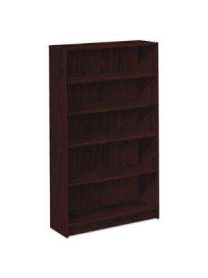 1870 Series Bookcase, Five Shelf, 36w x 11 1/2d x 60 1/8h, Mahogany