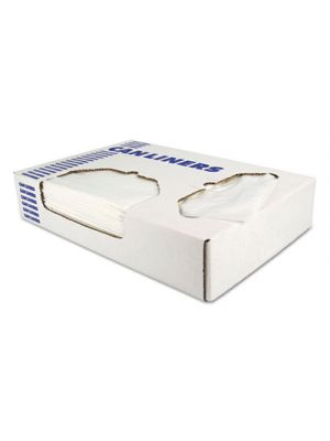 Low-Density Can Liners, 20-30 gal, 1.1 mil, 30 x 36, Clear, 250/Carton