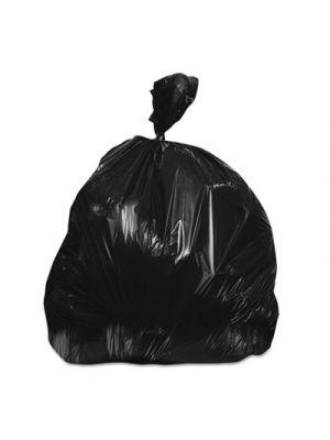 High-Density Waste Can Liners, 45 gal, 48 x 40, Black, 6/RL, 25 RL/CT