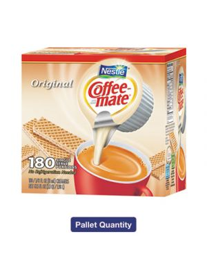 Liquid Coffee Creamer, Original, 0.375 Mini Cups,180/Box,4Bx/Crtn,150Ctn/Pallet