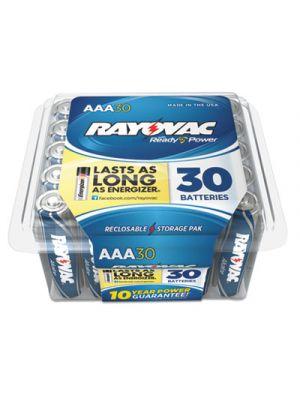 High Energy Premium Alkaline Battery, AAA, 30/Pack