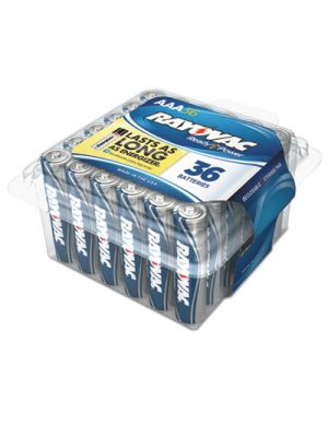 Alkaline Battery, AAA, 36/Pack