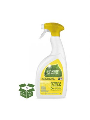Natural Tub & Tile Cleaner, Emerald Cypress & Fir, 32 oz Spray Bottle, 8/Carton