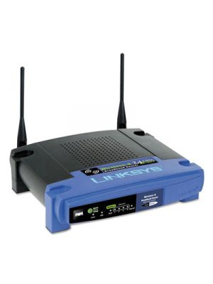 4-Port N Wireless Router, 4 Ports, 2.4GHz