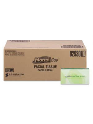 100% Recycled Convenience Pack Facial Tissue