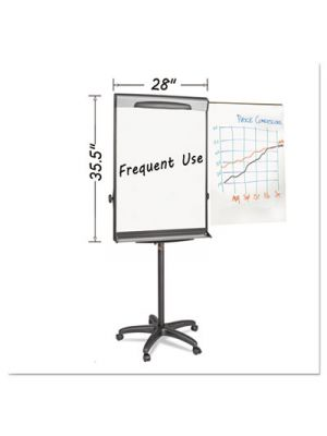 Tripod Extension Bar Magnetic Dry-Erase Easel, 69