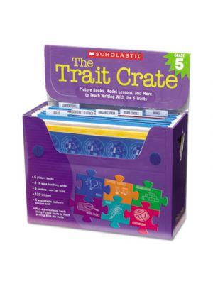 Trait Crate, Grade 5, Seven Books, Posters, Folders, Transparencies, Stickers