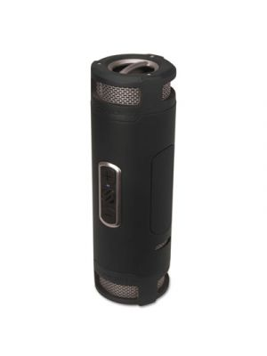 boomBOTTLE+ Rugged Waterproof Wireless Portable Speaker, Black/Gray