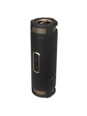 boomBOTTLE+ Rugged Waterproof Wireless Portable Speaker, Black/Gold