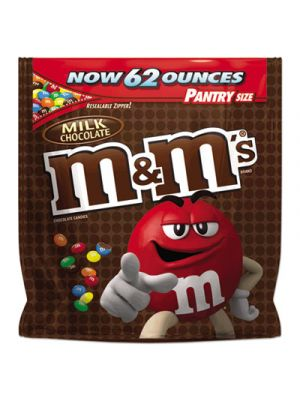 Milk Chocolate w/Candy Coating, 62 oz Bag