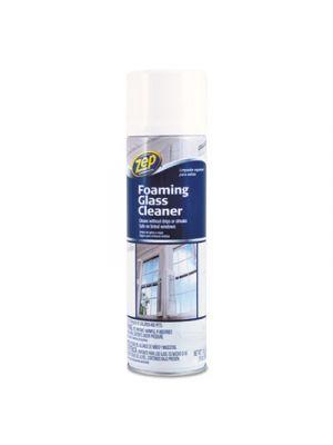 Foaming Glass Cleaner, 19 oz Aerosol, Mint Scent