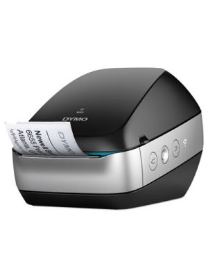 LabelWriter Wireless Black Label Printer, 71 four-line labels/min