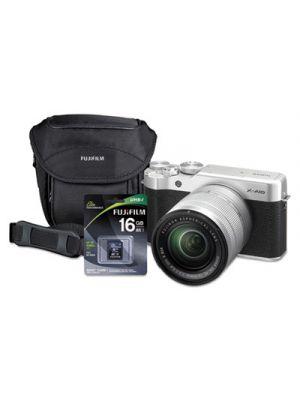 X-A10 Compact Interchangeable Lens Camera Bundle, 16 MP, Black