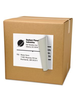 Shipping Labels with TrueBlock Technology, 8 1/2 x 11, Matte White, 500