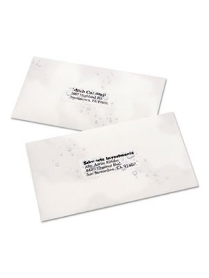 WeatherProof Durable Mailing Labels w/ TrueBlock Technology,1x2 5/8, White,15000
