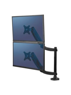 Platinum Series Dual Stacking Monitor Arm, Up to 27