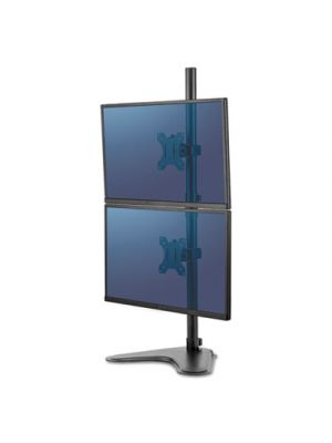 Professional Series Freestanding Dual Stacking Monitor Arm, Up to 32