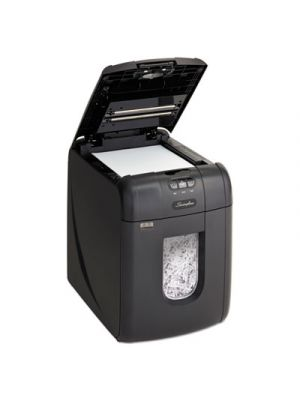 Stack-and-Shred 130X Auto Feed Super Cross-Cut Shredder, 130 Sheet Capacity