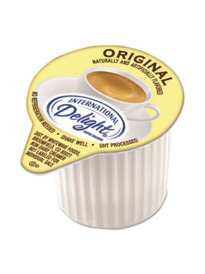 Flavored Liquid Non-Dairy Coffee Creamer, Original, Mini Cups, 384/Carton
