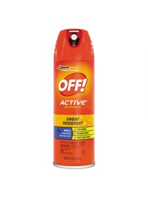 ACTIVE Insect Repellent, 6 oz Aerosol, 12/Carton