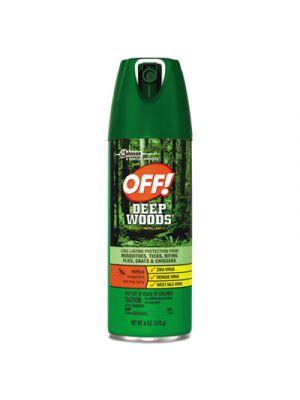 Deep Woods Insect Repellent, 6oz Aerosol, 12/Carton