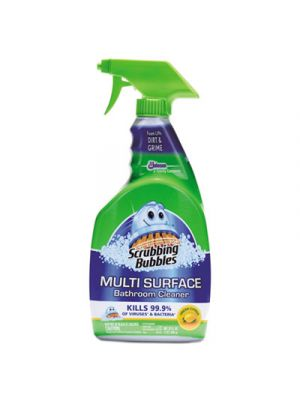 Multi Surface Bathroom Cleaner, Citrus Scent, 32 oz Spray Bottle