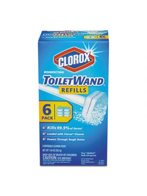 Disinfecting ToiletWand Refill Heads, 6/Pack, 8/Carton