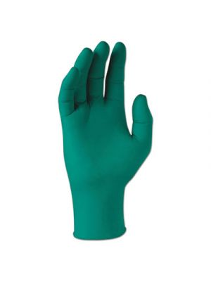 Spring Nitrile Powder-Free Exam Gloves, Green, 250mm Length, Large, 2000/CT