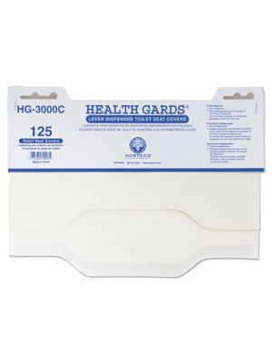 Health Gards Toilet Seat Covers, 3000/Carton