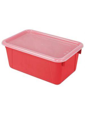 Cubby Bins, 12.2 x 7.8 x 5.1, Red, 6/PK