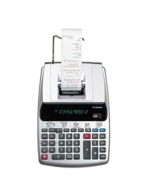 MP25DV 12-Digit Ribbon Printing Calculator, Black/Red Print, 4.3 Lines/Sec
