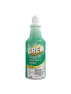Crew Clinging Toilet Bowl Cleaner, 32 oz Squeeze Bottle, Floral